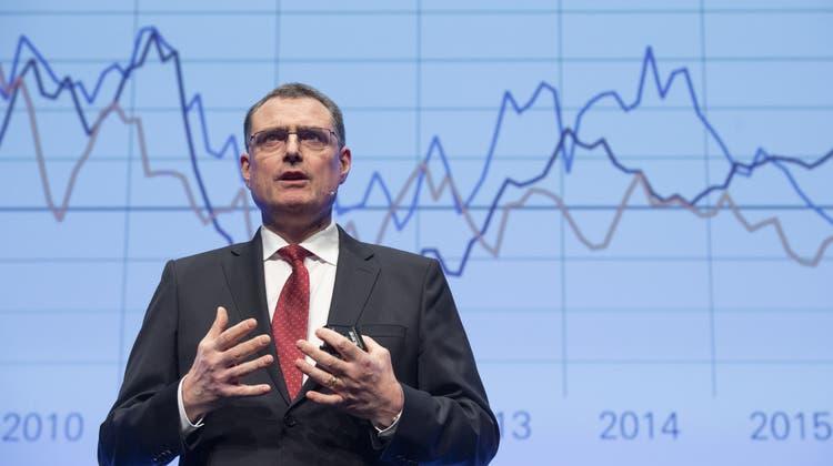 Thomas Jordan diskutiert in Aarau mit Wirtschafts- und Politikgrössen über die Grenzen der Macht