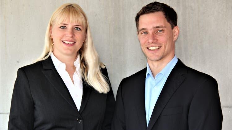Stefanie Stirnemann und Jonas Graf sind neue Gemeinderäte