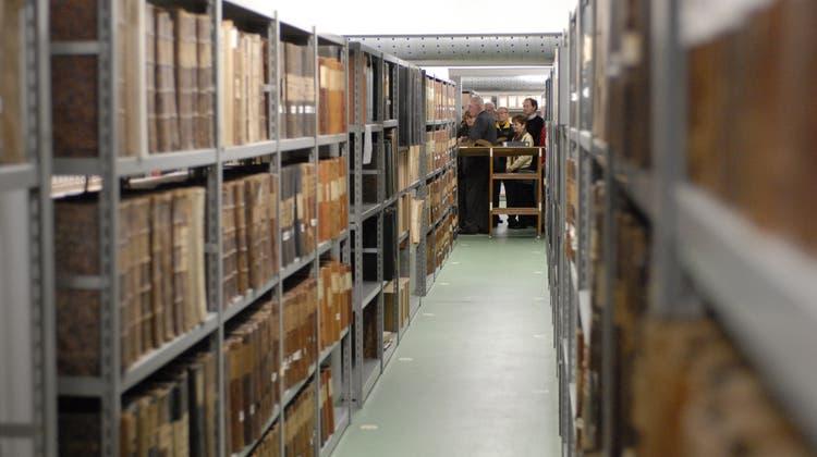 Von der aufwendigen Suche nach alten Akten im Solothurner Staatsarchiv
