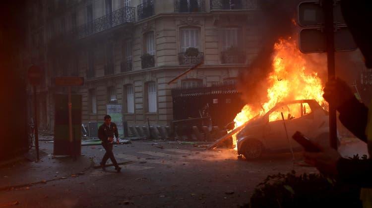Proteste der «Gelbwesten» verpassen der französischen Wirtschaft einen Dämpfer
