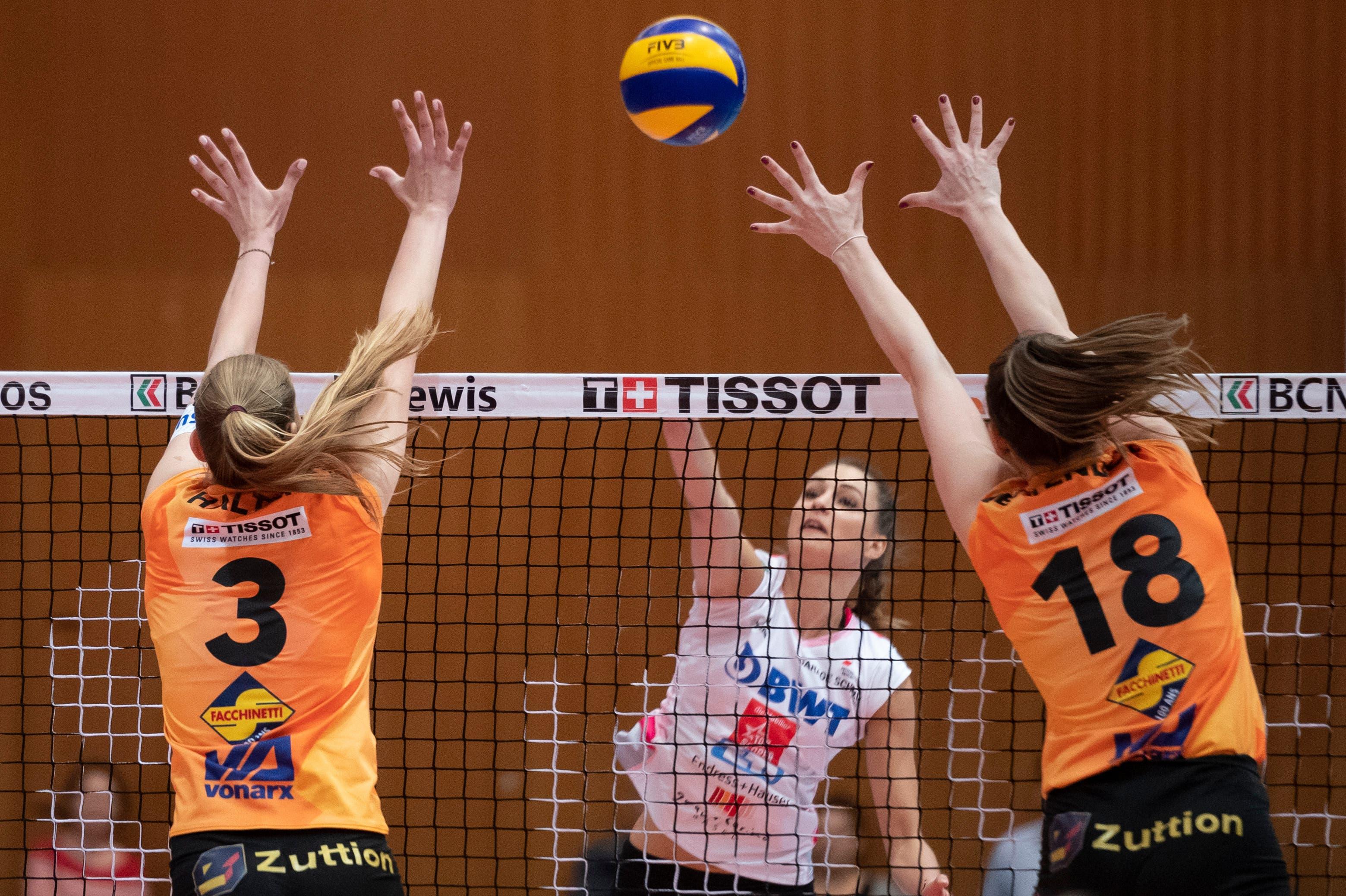 Dora Grozer und Sm'Aesch Pfeffingen verloren die Finalserie gegen Neuchatel UC mit 1:3.