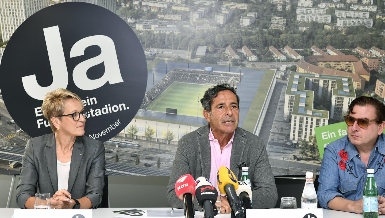 Promi-Bonus für das Fussballstadion: Warum Schawinski, Schlatter und Fuhrer für das Projekt werben