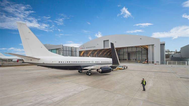 Amac baut fünften Hangar in Basel und schafft 50 neue Stellen