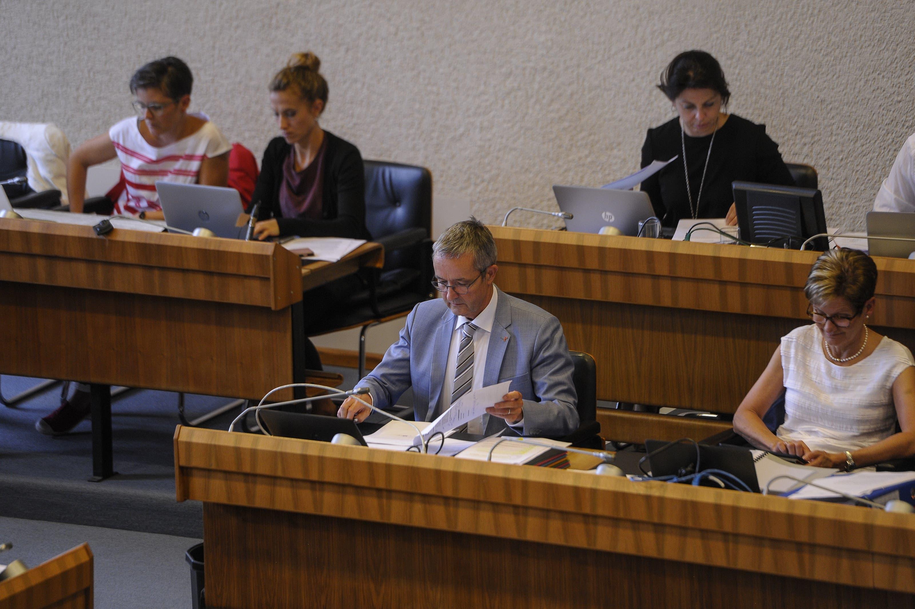 Im Landrat wurde über die Spitalfusion debattiert...