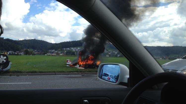 Tragischer Absturz ist nicht der erste tödliche Unfall mit einem Eigenbau-Flugzeug im Aargau