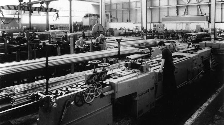 Wo einst Aluminium verarbeitet wurde, agieren nun Kleinbetriebe