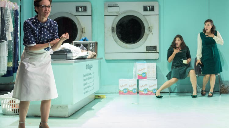 Eine Seifenoper im Waschsalon: TOBS begeistert mit Musiktheater