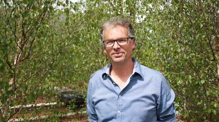 Gärtner Ralph Hoffmann: «Ein komplett einheimischer Garten wird von den wenigsten Kunden gewünscht»