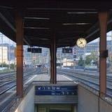 Cholersbach wird eingedolt und beim Bahnhof ist ein Lift vorgesehen