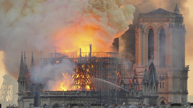 «Es ist eben nicht nur toter Stein»: Warum uns der Brand der Notre-Dame so beschäftigt