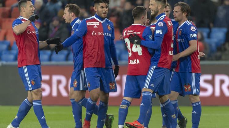 Das Minimum hat gereicht: Die FCB-Highlights vom 3:0 gegen den FC Zürich