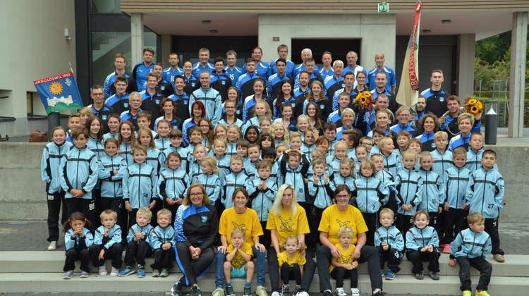 Eidgenössisches Turnfest Aarau: Wir sind der Turnverein Arboldswil