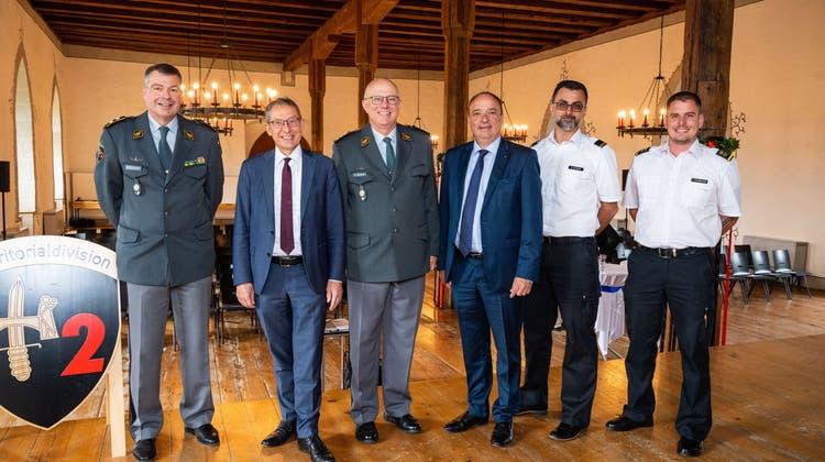 Regierungsrat entscheidet: Urs Hofmann bleibt bis Ende 2020 Aargauer Militärdirektor
