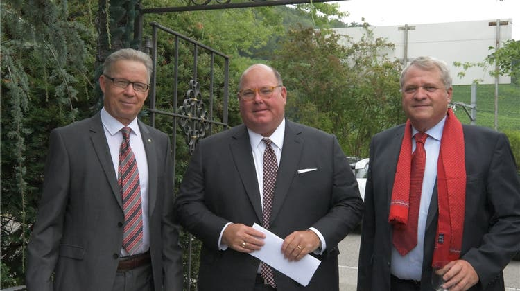 US-Botschafter McMullen hielt Referat in der «Chämihütte»