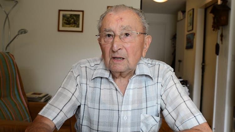 «Bis hierhin und nicht weiter»: Aktivdienstler Edgar Strub über die angespannte Lage an der Schweizer Grenze kurz vor Kriegsende