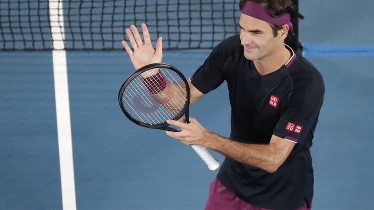 Im Eiltempo: Federer gegen Krajinovic ohne Probleme – Einzug in die 3. Runde fix