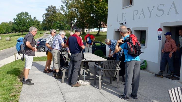 Herbstwanderung der Männerriege Lommiswil