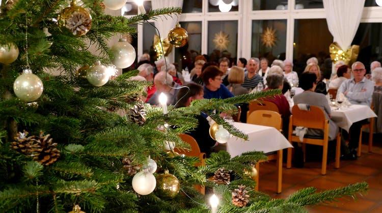 «Vier Lichter» an der Solino-Weihnachtsfeier