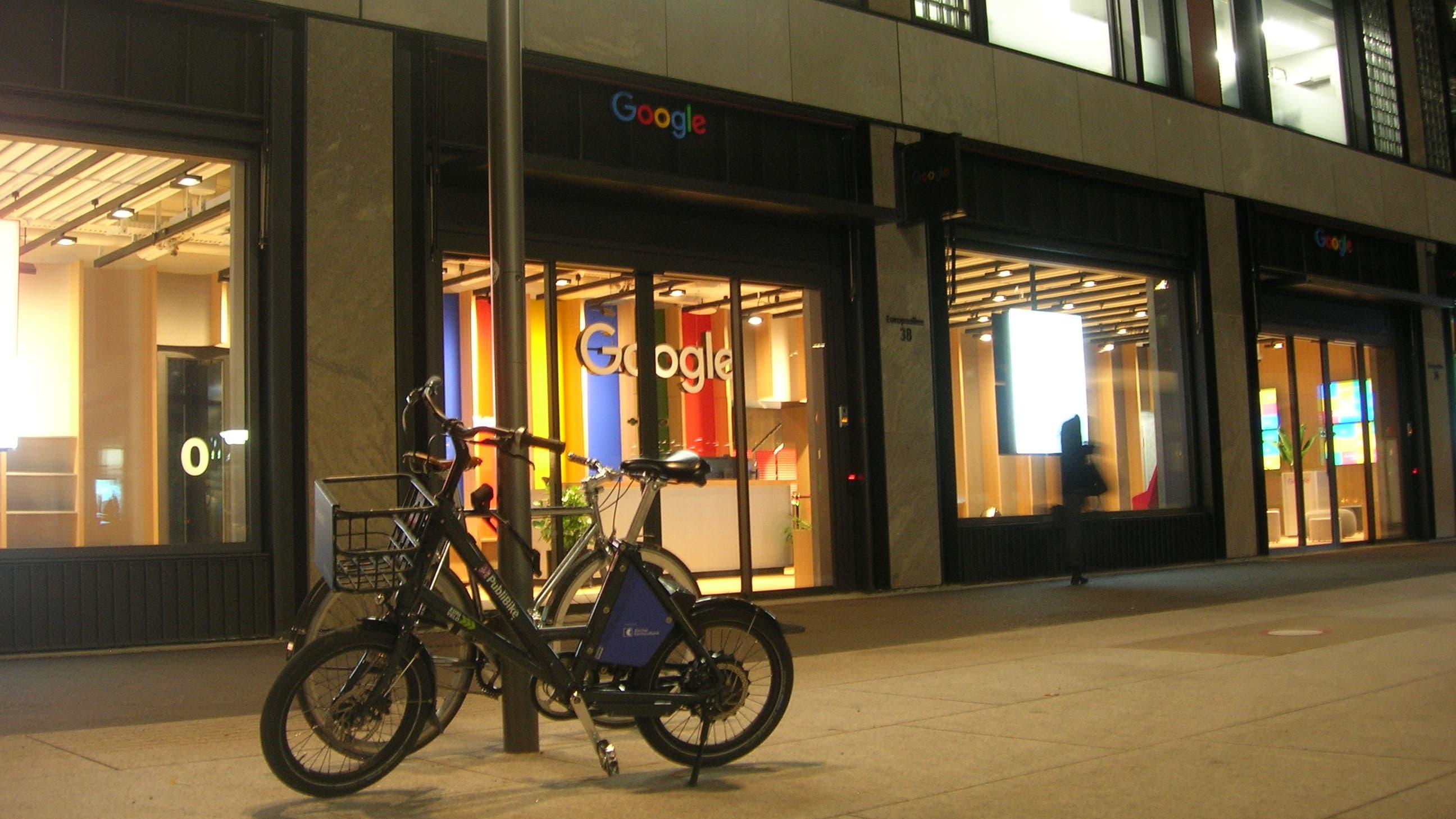 Hauptmieter Google bezieht ein Haus nach dem anderen.