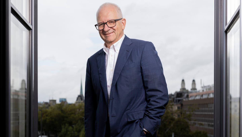NZZ-Präsident Etienne Jornod hat keinen Plan B für sein Unternehmen: «Wir müssen und wir werden mit unserer Strategie Erfolg haben.» (Severin Bigler)