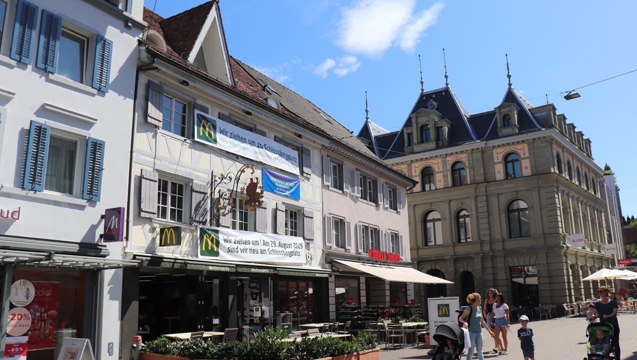 Neues Burgerlokal in Baden: Heute noch McDonald's – bald schon Manito