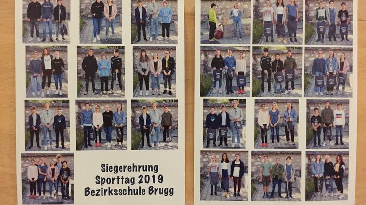 Toller Einsatz an praller Sonne – der Sporttag der Bezirksschule Brugg
