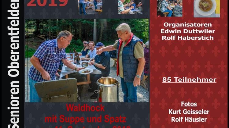 Waldhaushock mit Suppe & Spatz Mittwoch, 11. September 2019