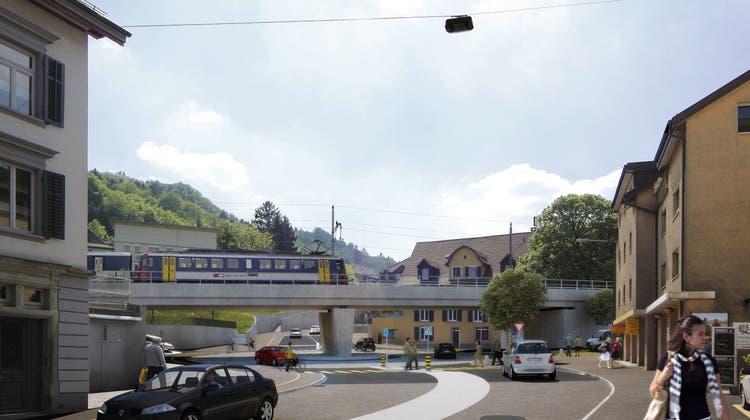 «Mumpitz» oder «gute Lösung»? Stadtrat steht hinter geplantem Schadenmühle-Kreisel