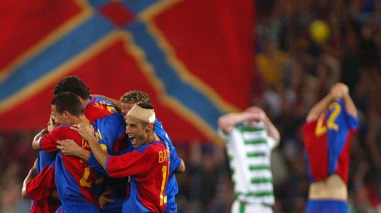 Gänsehaut trotz Corona: Gimenez und Yakin schiessen den FC Basel gegen Celtic in die Champions League