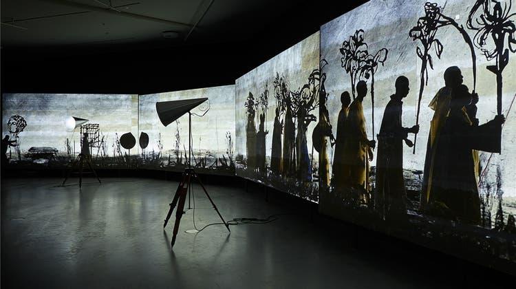 Eine Wucht: Das Kunstmuseum Basel zeigt den südafrikanischen Künstler William Kentridge
