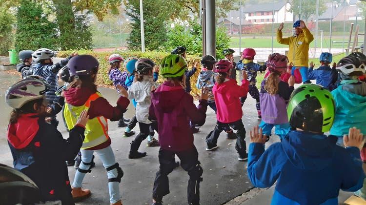 Scooter Kids Day an der Schule Eiken