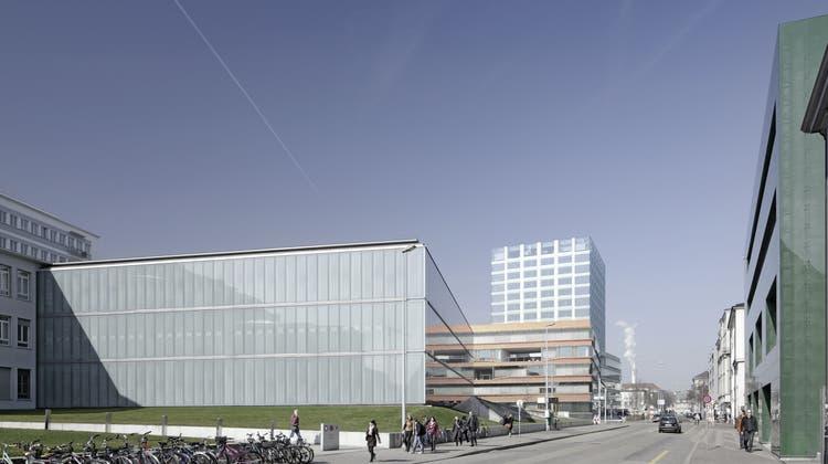 Bald ein Gratis-Kunstmuseum vis-à-vis des Unispitals?