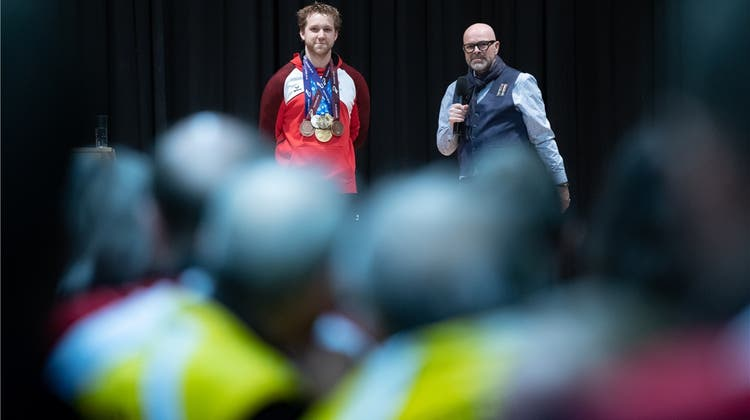 Holderbank ehrt Weltrekordler Lochbihler
