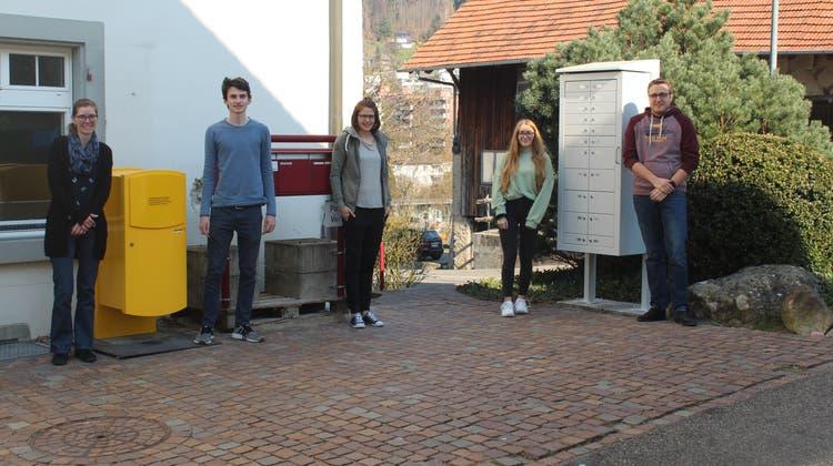 Post-Geschäfte neu ab sofort im Gemeindehaus