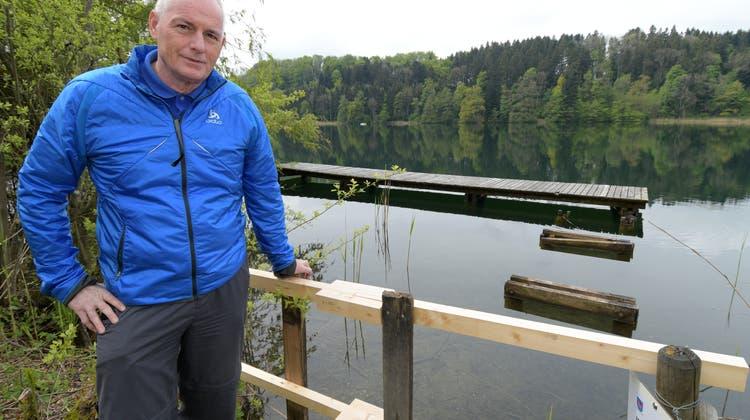Türlersee: Die Stege werden erst nach der Badesaison saniert