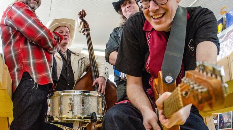 Für die Band Louie & The Wolf Gang ist Rockabilly mehr als nur Musik