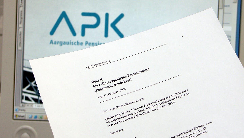 Aargauische Pensionskasse erreicht bestes Rendite-Ergebnis seit zehn Jahren