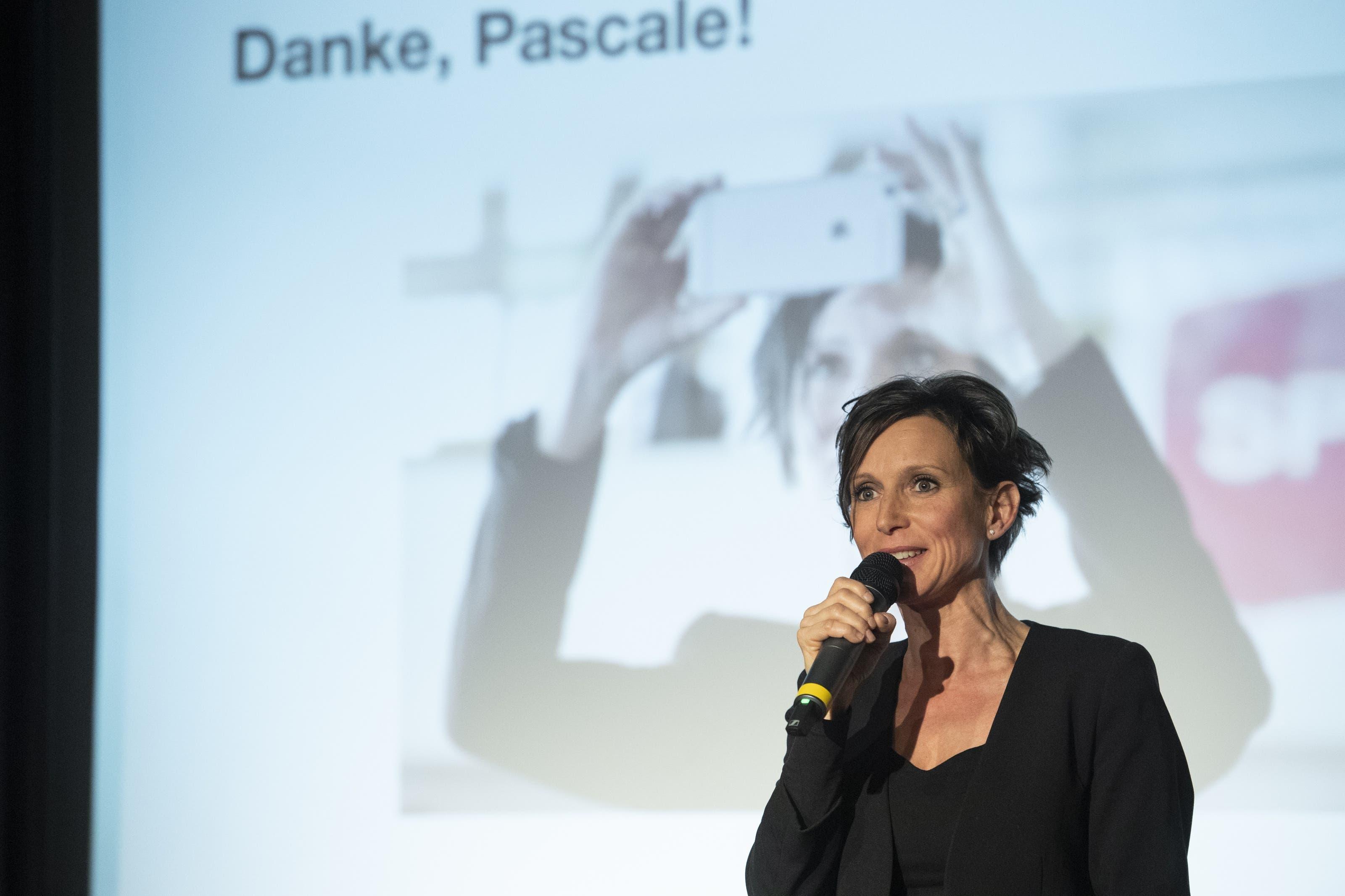 Am Parteitag der SP Aargau in der Stanzerei Baden wurde alt Ständerätin Pascale Bruderer offiziell verabschiedet.
