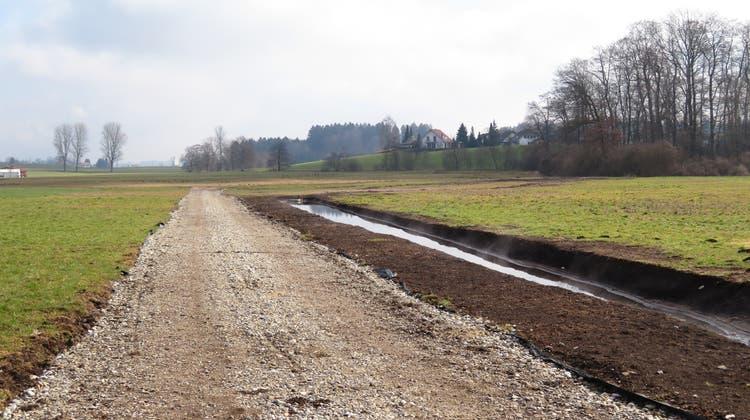 Noch knapp 100'000 Franken Kosten für Flurwege