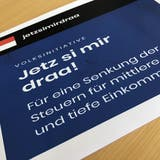 Volksinitiative «Jetz si mir draa!»: Wie teuer wird die Steuerreform wirklich?