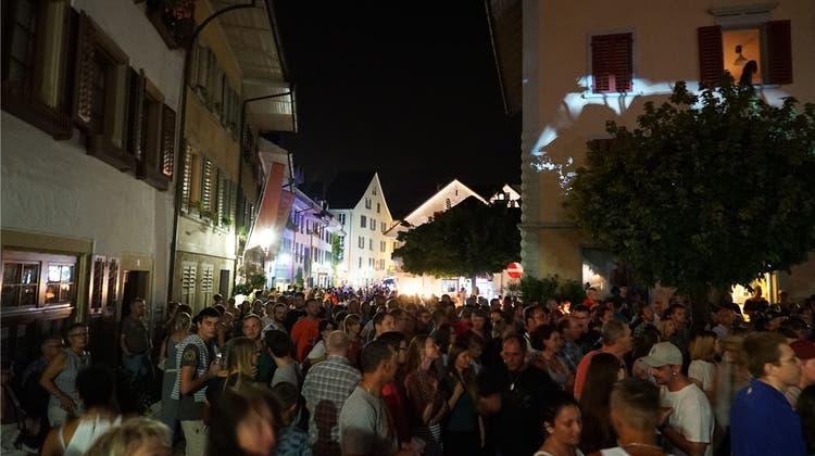 Gassenfest ein Jahr verschoben, Spatenstich für Umfahrung in anderer Form