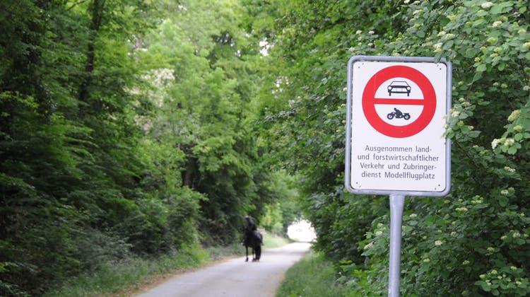 Bürgergemeinde will ein Fahrverbot bei Feldwegen