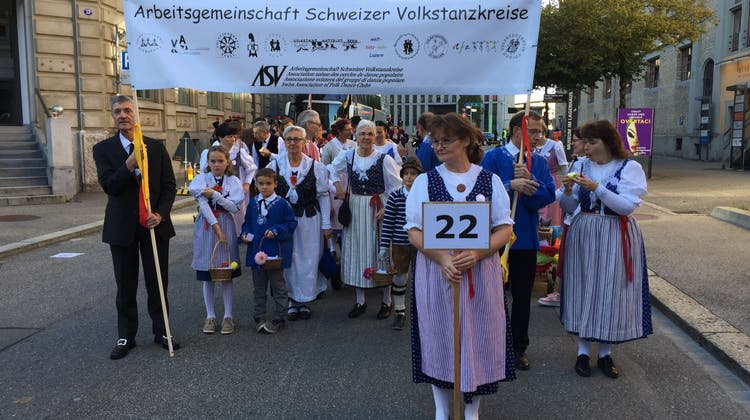 Samstag, 12. Oktober 2019; Tag des Ehrengastes «IG Schweizer Volkskultur» an der OLMA 2019