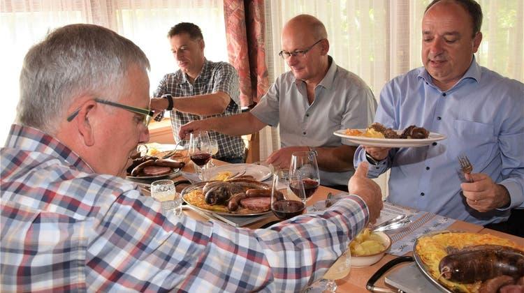 Es ist Metzgete-Zeit – Im Schenkenbergtal lädt man zur herbstlichen «Sauerei»