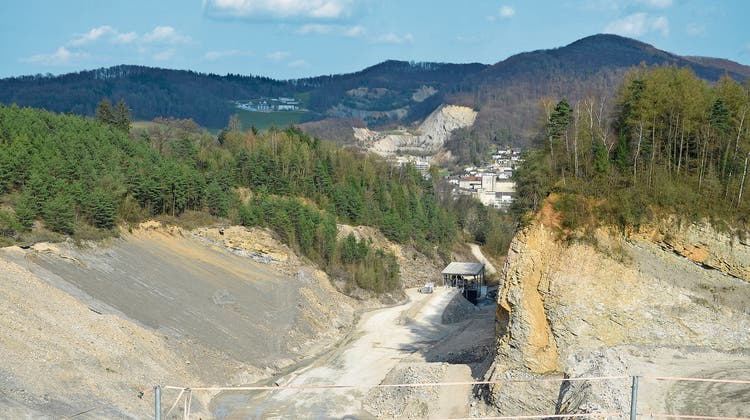 Für den Abbau im Steinbruch gibt es neue Bedingungen
