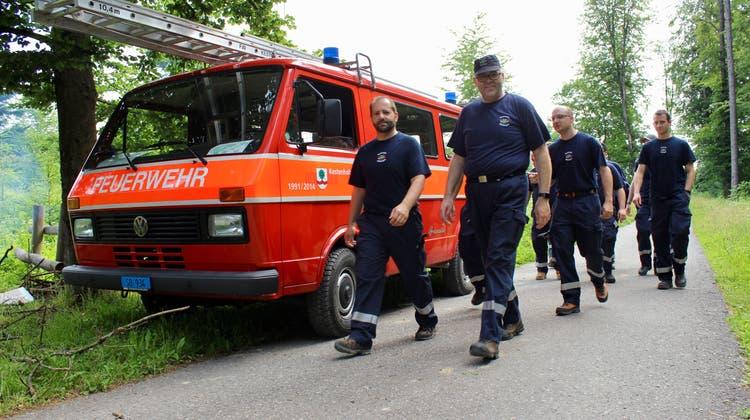 Der Aargauische Kantonale Feuerwehrmarsch wird um ein Jahr verschoben