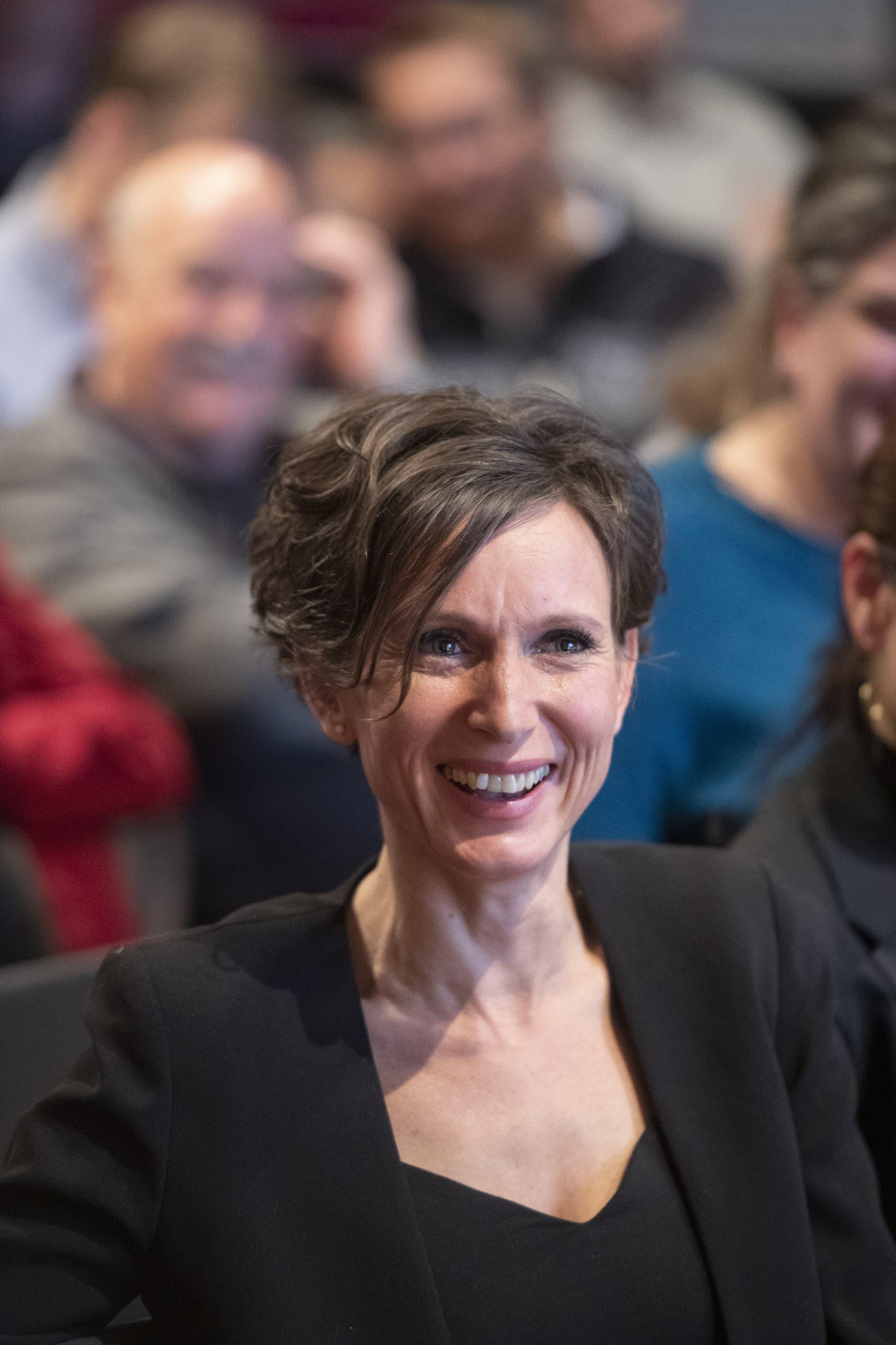 Sie vertrat den Aargau von 2001 bis 2015 im Stöckli.