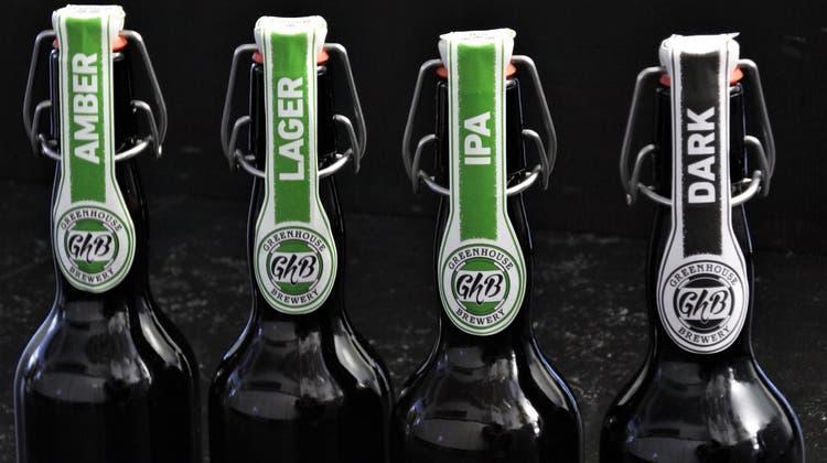 Heute gibts Urdorfer Bier: Die Greenhouse Brewery lädt zum Rampenverkauf