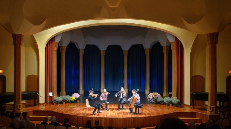 9. Benefizkonzert -Kaleidoskope String Quartet begeistert