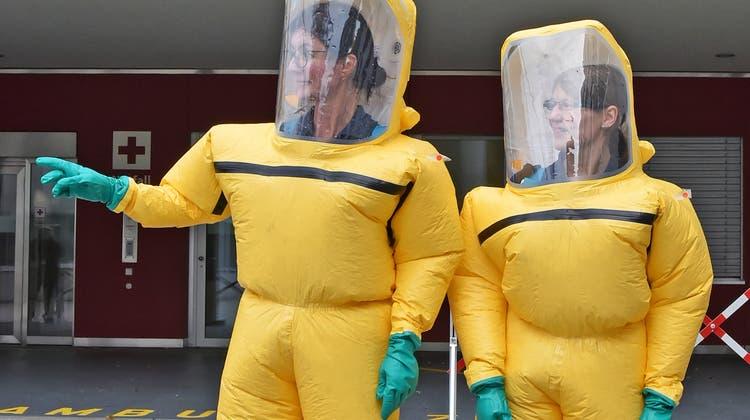 Notfallübung «Stanislaus»: Hier geht's lang zur Dekontamination